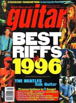 Guitar One June 1996