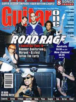 Guitar One October 2000