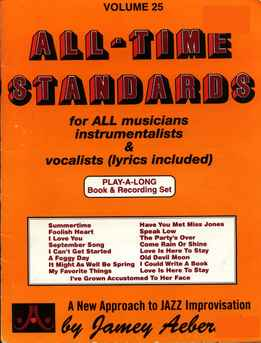 Jamey Aebersold - All Time Standards Vol. 25