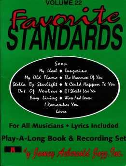 Jamey Aebersold - Favorite Standards Vol. 22