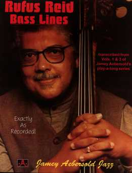 Jamey Aebersold Jazz - Rufus Reid Bass Lines