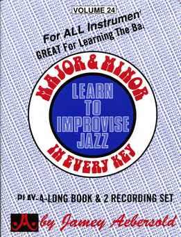 Jamey Aebersold - Major And Minor Vol. 24