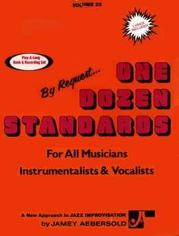 Jamey Aebersold - One Dozen Standards Vol. 23