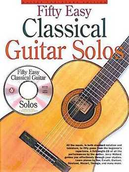 Jerry Willard - 50 Easy Classical Guitar Solos