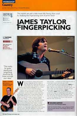 Lee Hodgson - James Taylor Fingerpicking