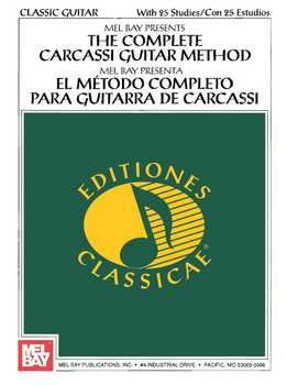 Mel Bay - The Complete Carcassi Guitar Method