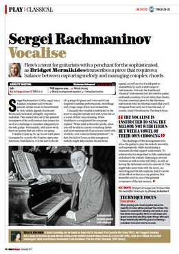 Bridget Mermikides - Sergei Rachmaninov - Vocalise