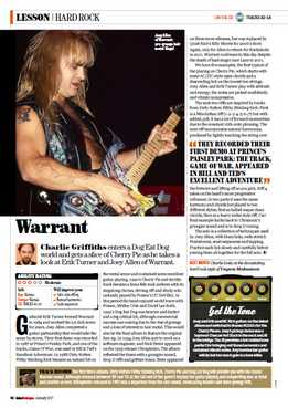 Charlie Griffiths - Warrant