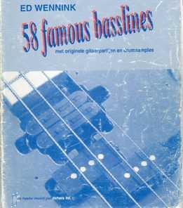Ed Wennink - 58 Famous Basslines