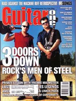 Guitar One January 2001