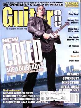 Guitar One January 2002