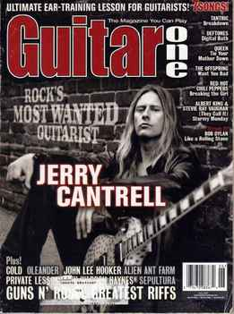 Guitar One June 2001