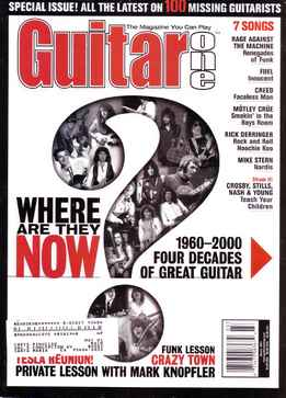 Guitar One March 2001