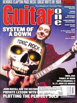 Guitar One October 2001