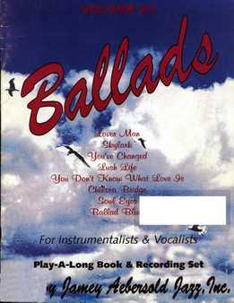 Jamey Aebersold - Ballads Vol. 32