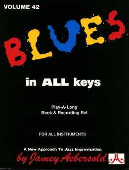 Jamey Aebersold - Blues In All Keys Vol. 42