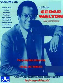 Jamey Aebersold - Cedar Walton Vol. 35