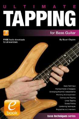 Stuart Clayton - Ultimate Tapping For Bass Guitar