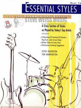 Tom Warrington & Steve Houghton – Essential Styles. Book 2 (For Bass & Drums)