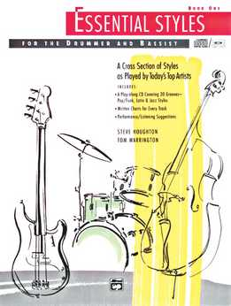 Tom Warrington & Steve Houghton - Essential Styles. Book 1 (For Bass & Drums)