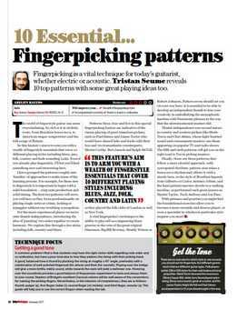 Tristan Seume - 10 Essential Fingerpicking Patterns