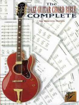 Warren Nunes - Jazz Guitar Chord Bible Complete